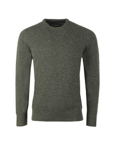 Barbour Lifestyle Mens Green Tisbury Crew Jumper