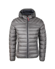 Napapijri Mens Grey Aerons Hooded Jacket