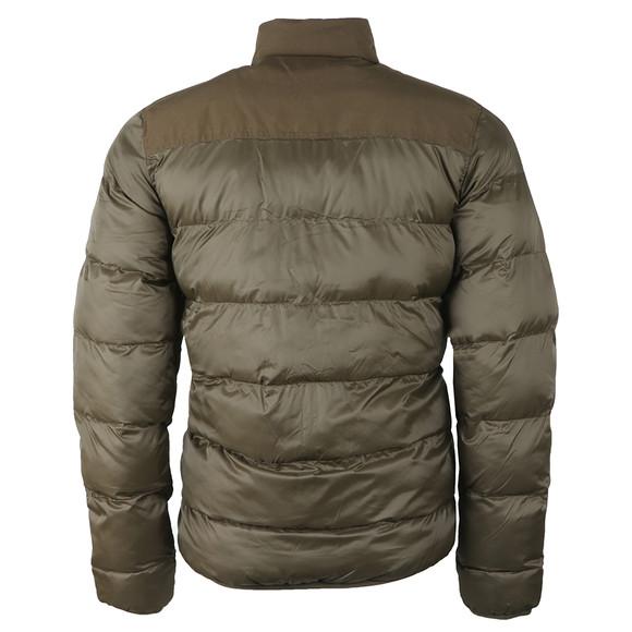 Barbour International Mens Green Tuck Quilt Jacket main image