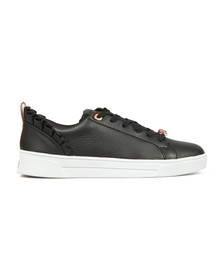 Ted Baker Womens Black Astrina Leather Trainer