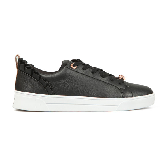 Ted Baker Womens Black Astrina Leather Trainer main image