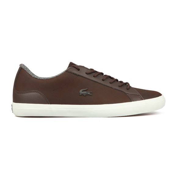 Lacoste Mens Brown Lerond 318 Leather Trainer main image