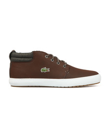 Lacoste Mens Brown Ampthill Terra 318 Trainers