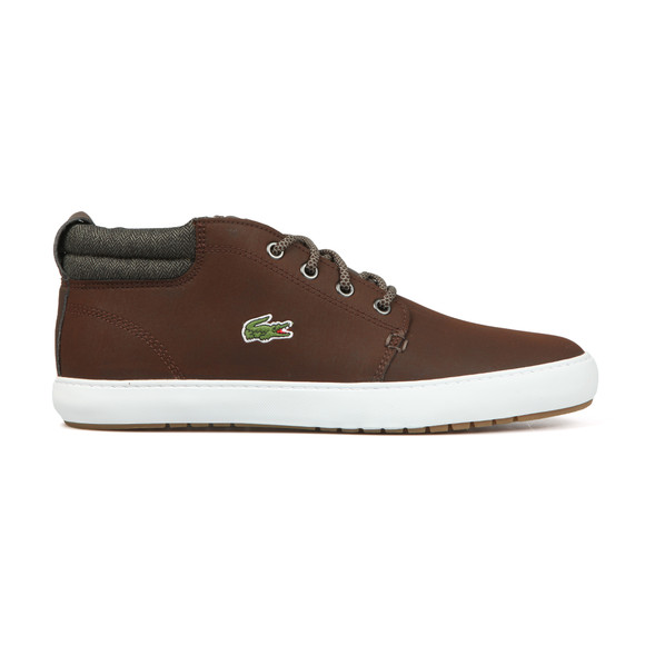 Lacoste Mens Brown Ampthill Terra 318 Trainers main image
