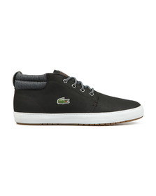 Lacoste Mens Black Ampthill Terra 318 Trainers