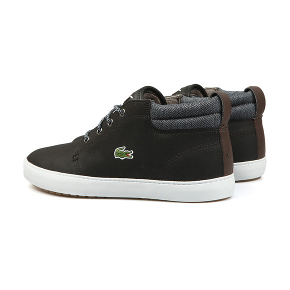 Lacoste Mens Black Ampthill Terra 318 Trainers main image
