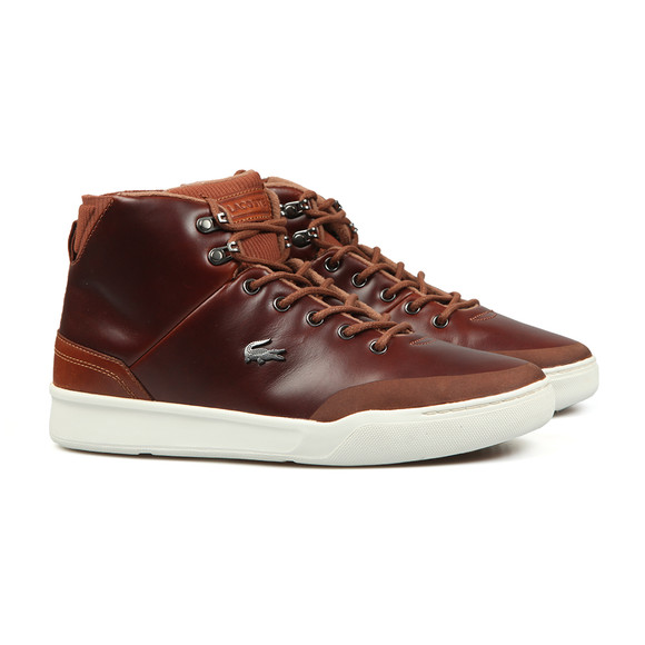 Lacoste Sport Mens Brown Explorateur 318 Trainer main image
