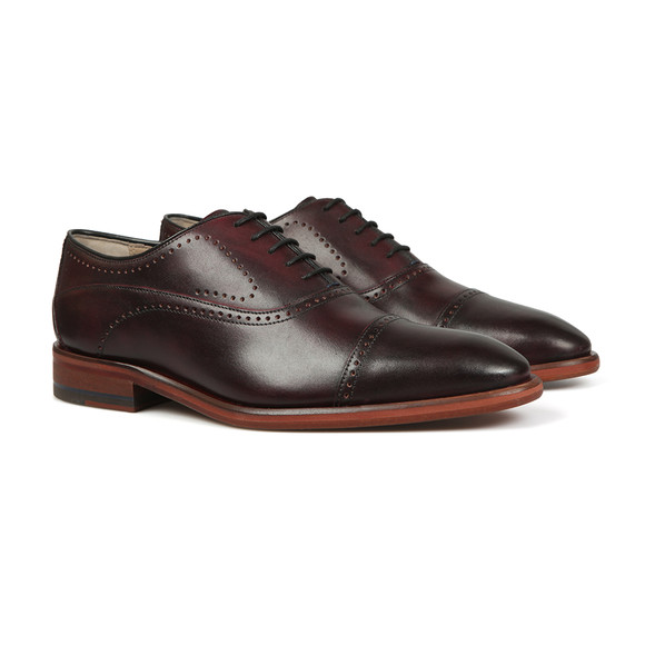 Oliver Sweeney Mens Red Mallory Shoe main image