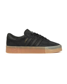 Adidas Originals Womens Black Sambarose Trainer