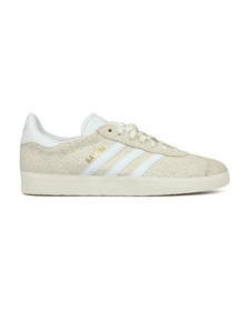 adidas Originals Womens Off-White Cracked Gazelle W Trainer
