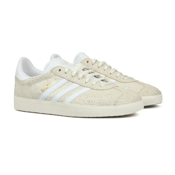 adidas Originals Womens Off-White Cracked Gazelle W Trainer main image