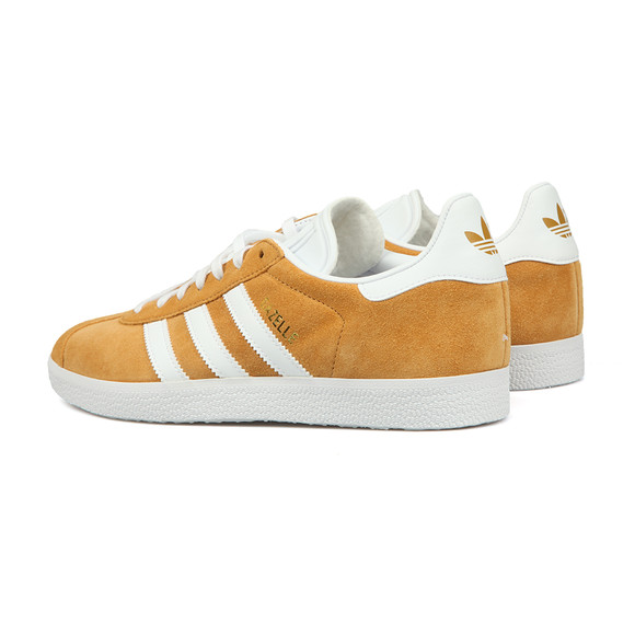 adidas Originals Mens Brown Gazelle Trainer main image