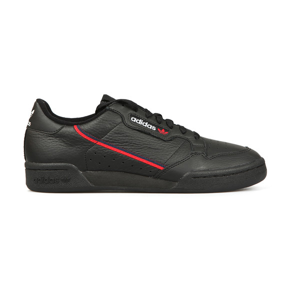 adidas Originals Mens Black Continental 80 Trainer main image