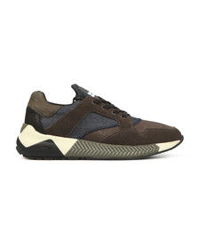 Replay Mens Beige Downers Trainer