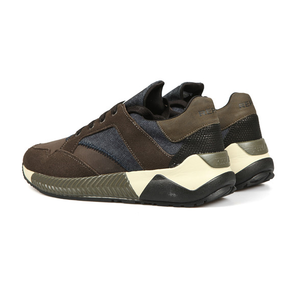 Replay Mens Beige Downers Trainer main image
