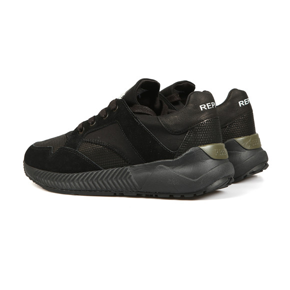 Replay Mens Black Fuam Trainer main image