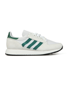 Adidas Originals Mens Off-white Forest Grove Trainer
