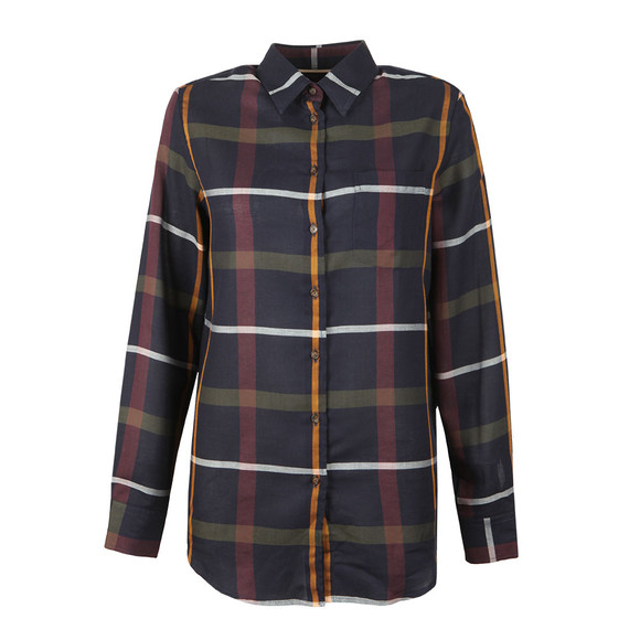 Barbour Lifestyle Womens Blue Oxer Shirt main image