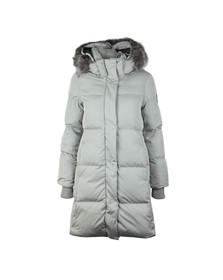 Superdry Womens Grey Cocoon Parka