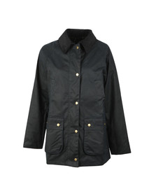 Barbour Lifestyle Womens Blue Acorn Wax Jacket