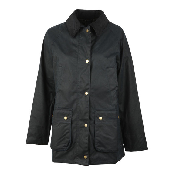 Barbour Lifestyle Womens Blue Acorn Wax Jacket main image