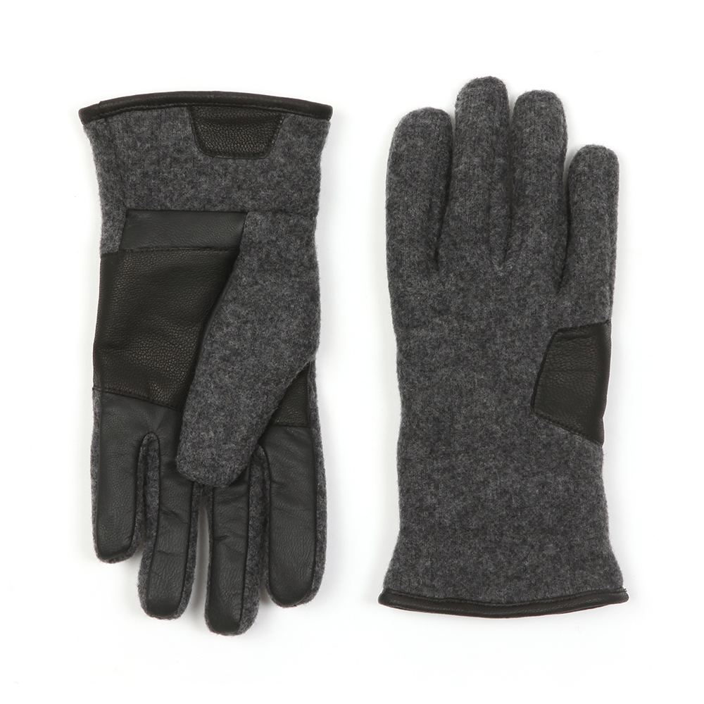 09d0cb873af9a Ugg Fabric & Leather Gloves | Masdings