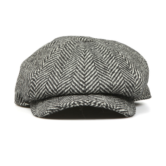 Holland Cooper Unisex Black Baker Boy Cap main image