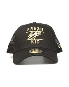 Fresh Ego Kid Mens Black New Era Mesh Trucker Cap