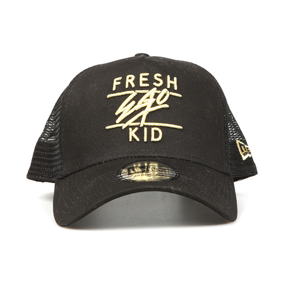 Fresh Ego Kid Mens Black New Era Mesh Trucker Cap main image