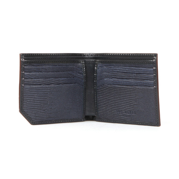 Ted Baker Mens Blue Spidey Contrast Edge Wallet main image