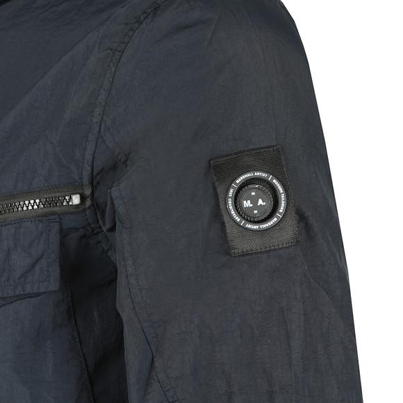 Marshall Artist Mens Blue Garment Dyed Field Jacket main image