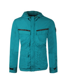 Marshall Artist Mens Green Garment Dyed Field Jacket