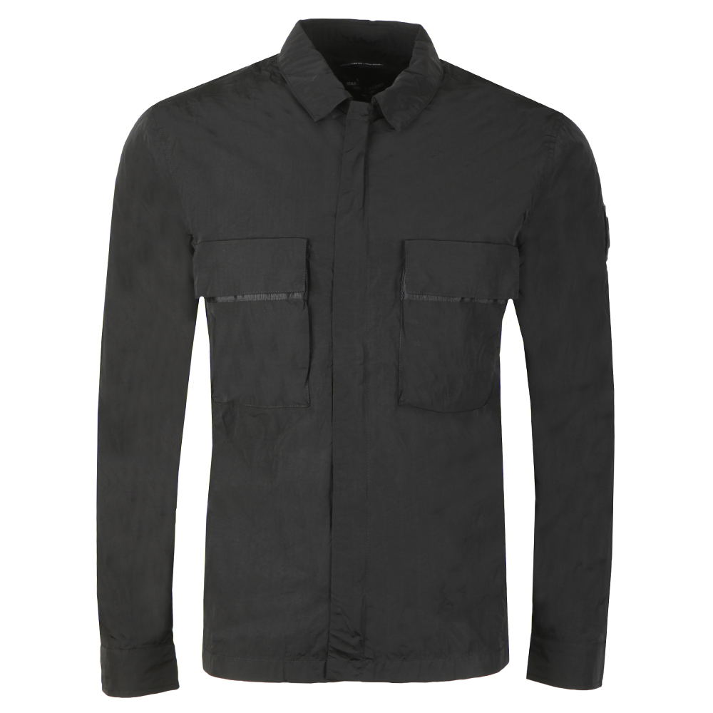 Liquid Bellow Pocket Overshirt main image
