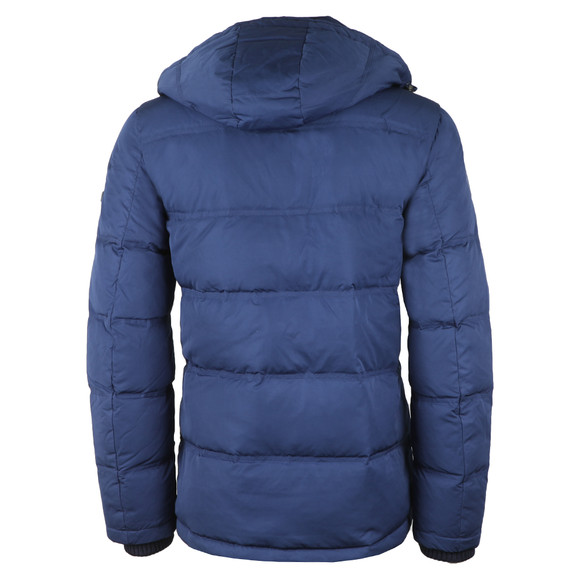Hackett Mens Blue Classic Down Jacket main image