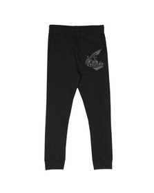 Vivienne Westwood Anglomania Mens Black Tracksuit Bottom With Patch Logo