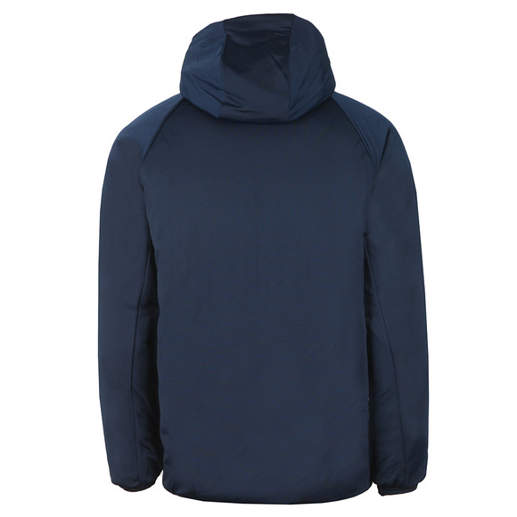adidas Originals Mens Blue SST Down Hooded Jacket main image
