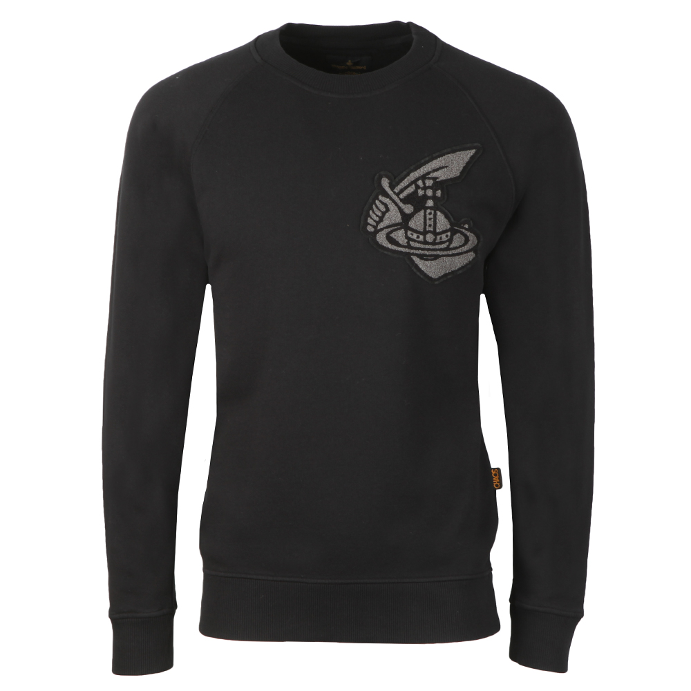 Classic Sweatshirt With Patch Logo main image