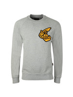 Classic Sweatshirt With Patch Logo