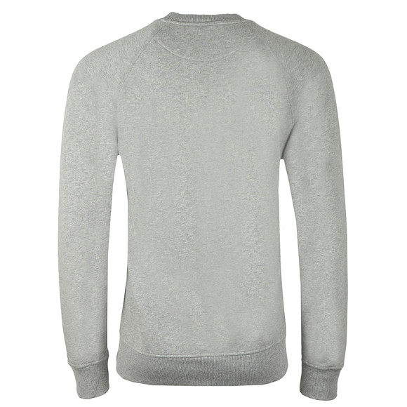 Vivienne Westwood Anglomania Mens Grey Classic Sweatshirt With Patch Logo main image