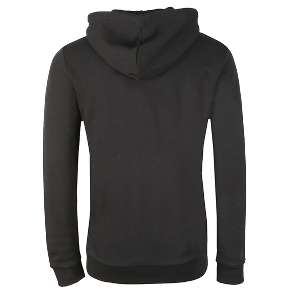 adidas Originals Mens Black Trefoil Hoodie main image