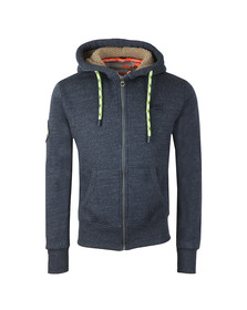Superdry Mens Blue Orange Label Mountain Ziphood