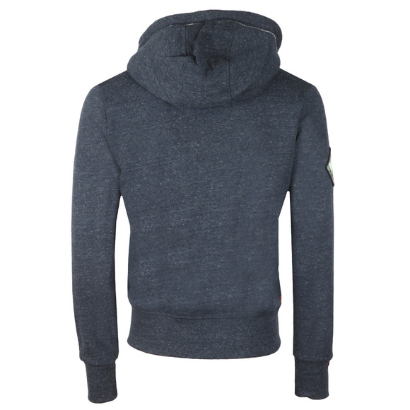 Superdry Mens Blue Orange Label Mountain Ziphood main image