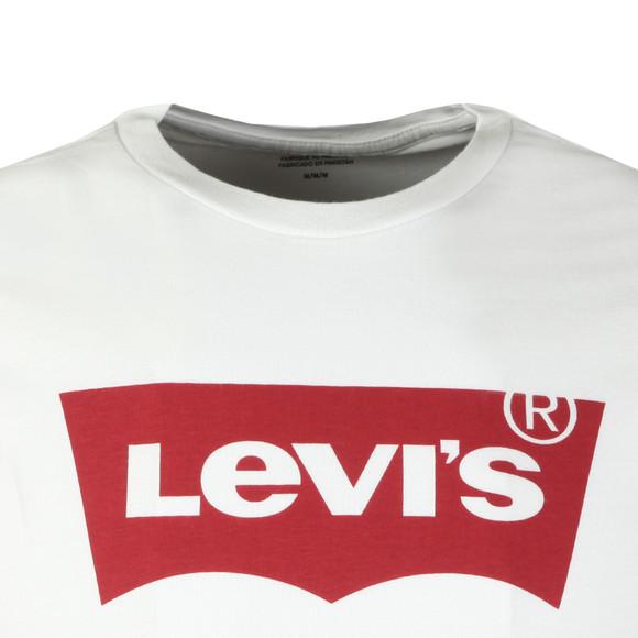 Levi's Mens White S/S Bat Wing Tee main image