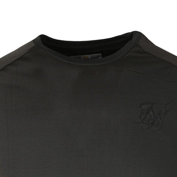 Sik Silk Mens Black Tech Tee main image