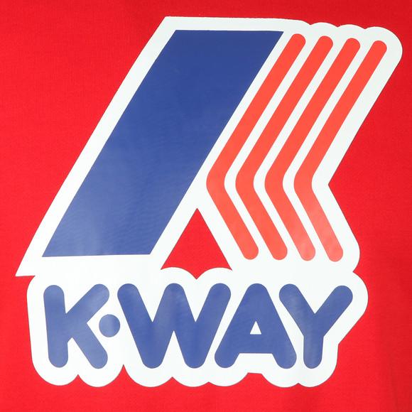 K-Way Mens Red Le Vrai Floyd Sweat main image