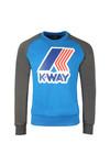 K-Way Mens Blue Le Vrai Floyd Sweat