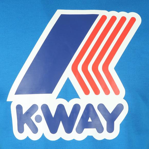 K-Way Mens Blue Le Vrai Floyd Sweat main image