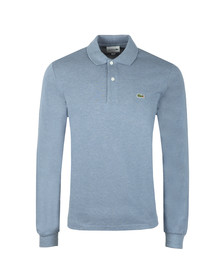 Lacoste Mens Blue L1313 L/S  Polo