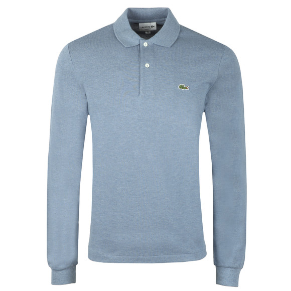 Lacoste Mens Blue L1313 L/S  Polo main image