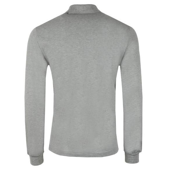 Lacoste Mens Grey L1313 L/S Polo main image